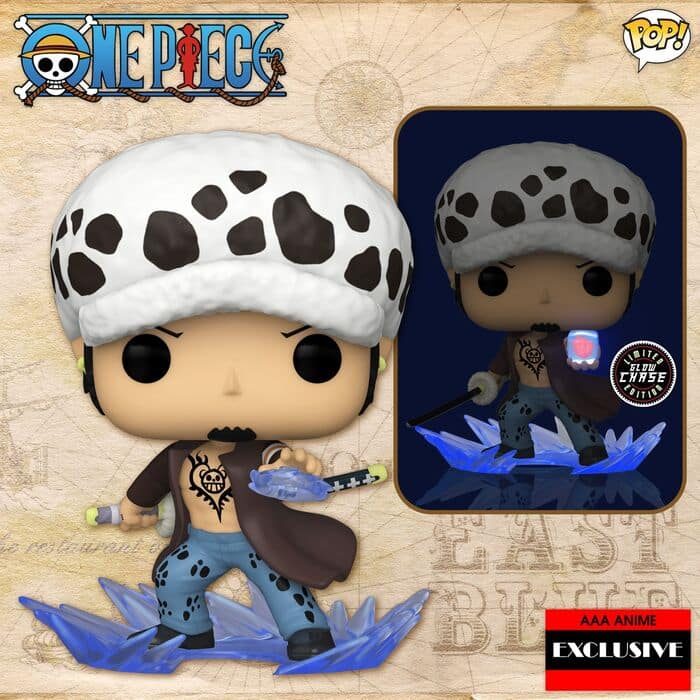 Funko Pop! Animation: One Piece - Trafalgar Law Room Attack With Glow In The Dark Chase Variant Pop! Vinyl Figure - AAA Anime Exclusive