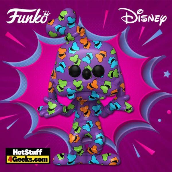 The Funko Pop! Art Series: Disney Treasures of The Vault – Goofy Artist Series Funko Pop! Vinyl Figure – Amazon Exclusive