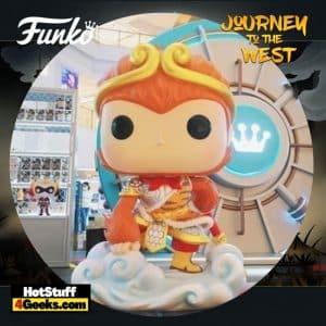 Funko Pop! Asia: Journey to the West: Monkey King #115 Funko Pop! Vinyl Figure – Shanghai (China) Con Exclusive 2021
