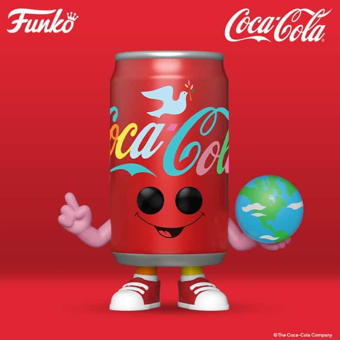 "Funko Pop! Coca-Cola: ""I'd Like to Buy the World a Coke"" Can Funko Pop! Vinyl Figure"