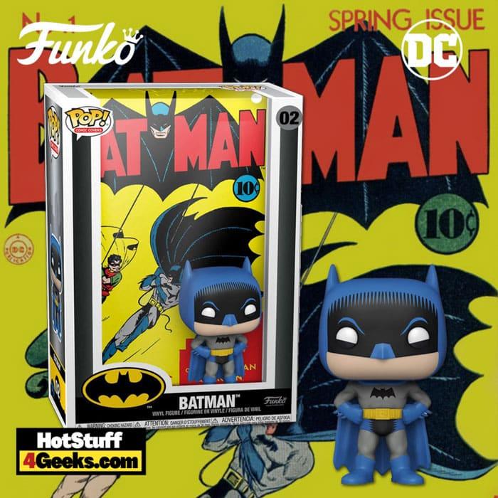 Funko Pop! Comic Cover Batman #1 Funko Pop! Cover Vinyl Figure- image custom made by Hotstuff4geeks.com