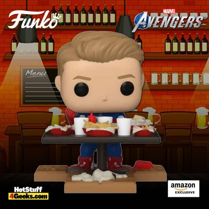 Funko Pop! Deluxe Marvel Avengers – Victory Shawarma Series – Captain America