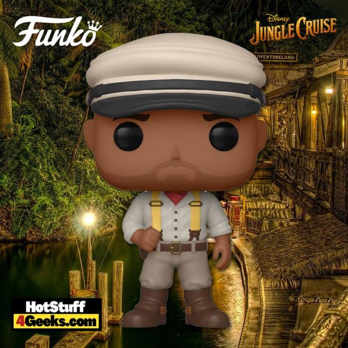 Funko Pop! Disney: Jungle Cruise - Frank Funko Pop! Vinyl Figure - image custom made by Hotstuff4geeks.com