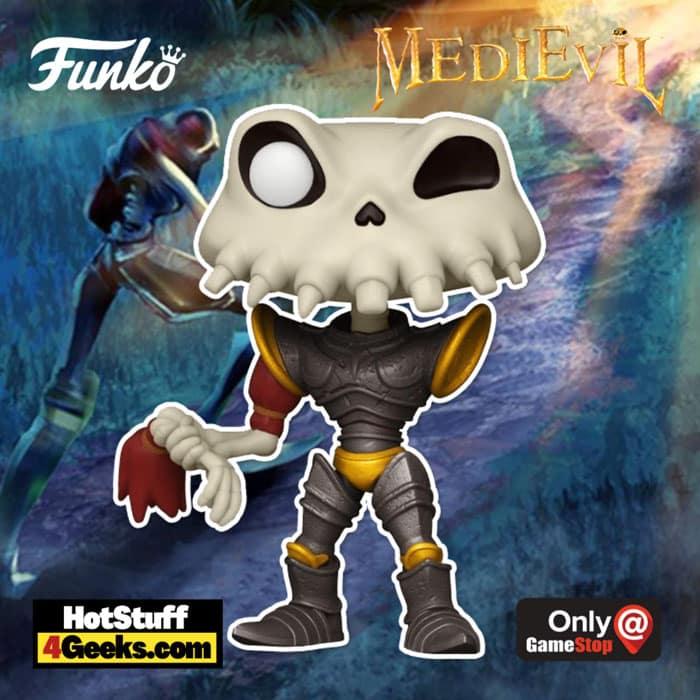 Funko Pop! Games MediEvil - Sir Daniel Fortesque (Metallic) Funko Pop! Vinyl Figure - GameStop Exclusive
