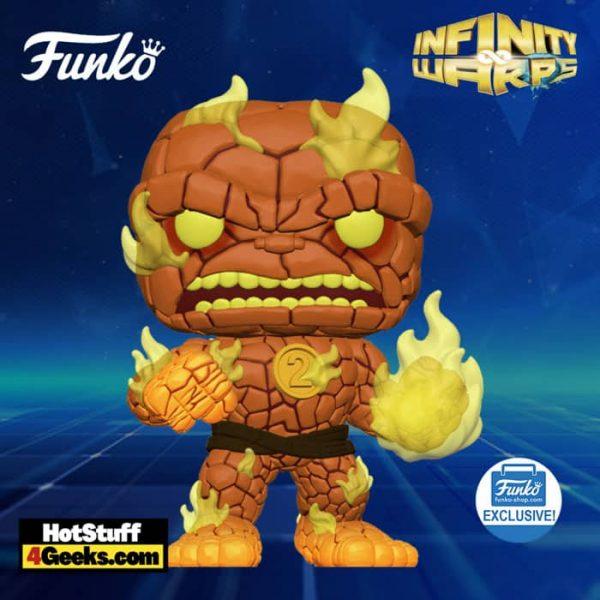 Funko Pop! Infinity Warps: Hot Rocks Funko Pop! Vinyl Figure - Funko Shop Exclusive