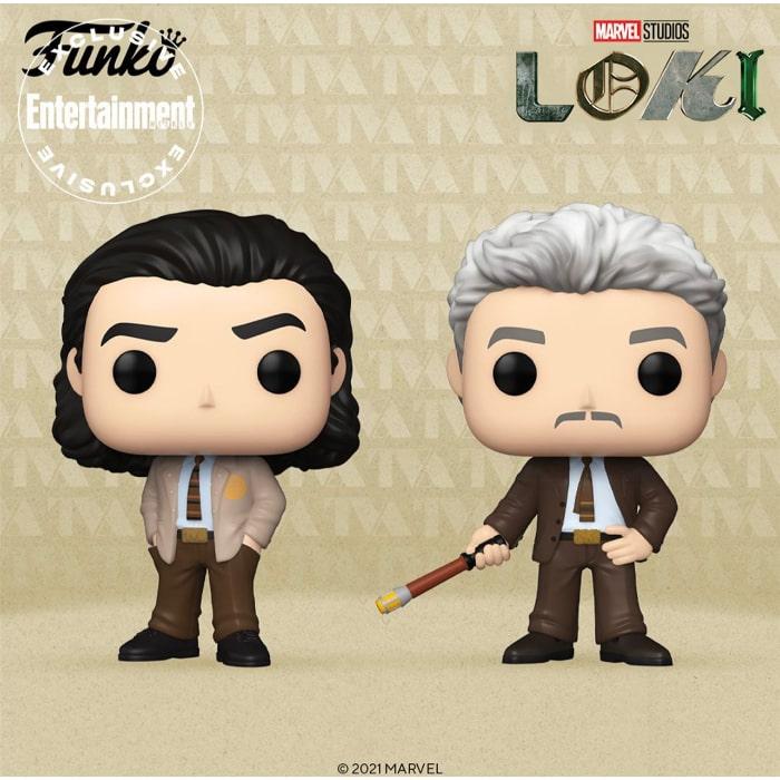 Funko Pop! Loki Series - Mobius and Loki Funko Pop! Vinyl Figures