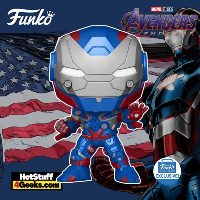Funko Pop! Marvel Avengers: Endgame - Iron Patriot Funko Pop! Vinyl Figure - Funko Shop Exclusive