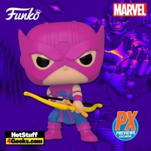 Funko Pop! Marvel Classic Hawkeye Funko Pop! Vinyl Figure - PX Previews Exclusive