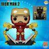 Funko Pop! Marvel: Iron Man II - Mark IV With Gantry Glow-The-Dark Funko Pop! Vinyl Figure - PX Preview Exclusive