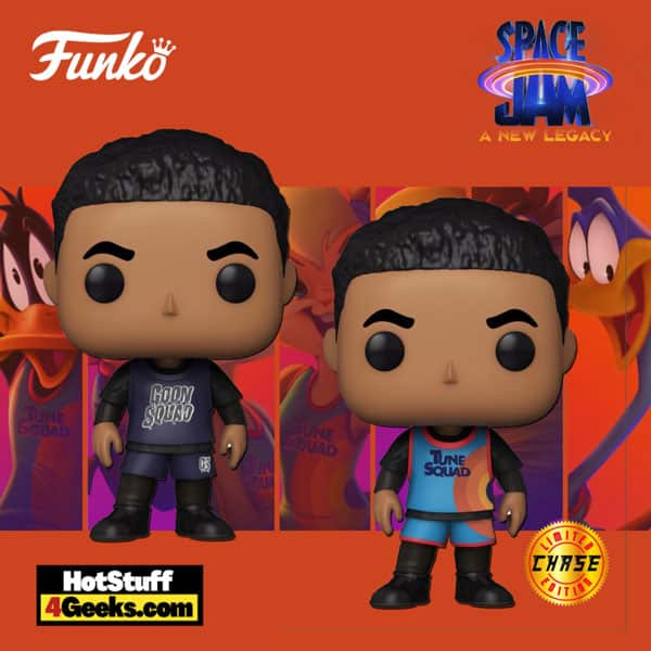 Funko Pop! Movies: Space Jam: A New Legacy - Dom With Chase Funko Pop! Vinyl Figure