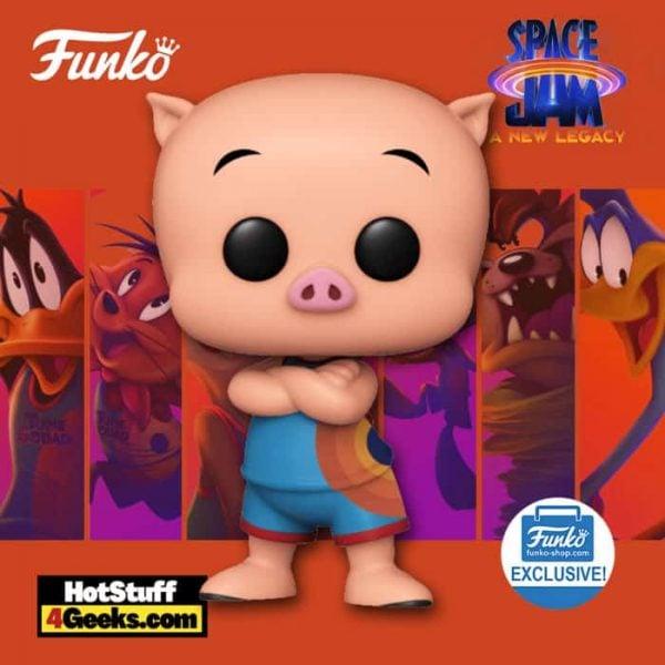 Funko Pop! Movies: Space Jam: A New Legacy - Porky Pig Funko Pop! Vinyl Figure - Funko Shop Exclusive
