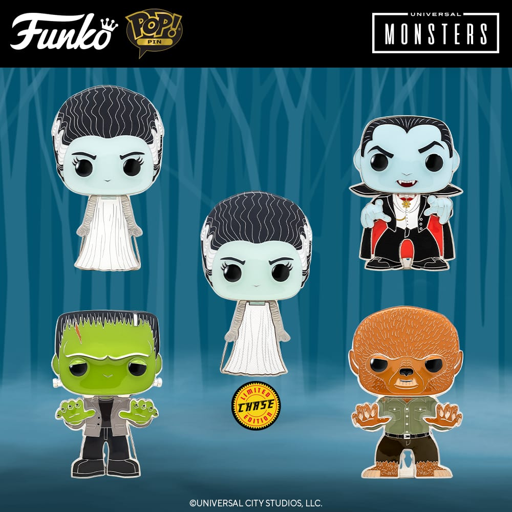 Funko Pop! Pins - Universal Monsters