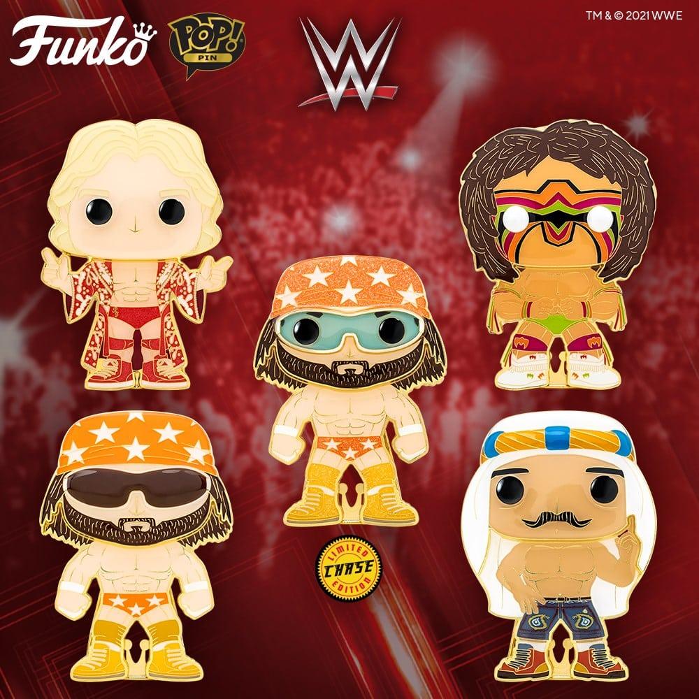 Funko Pop! Pins - WWE