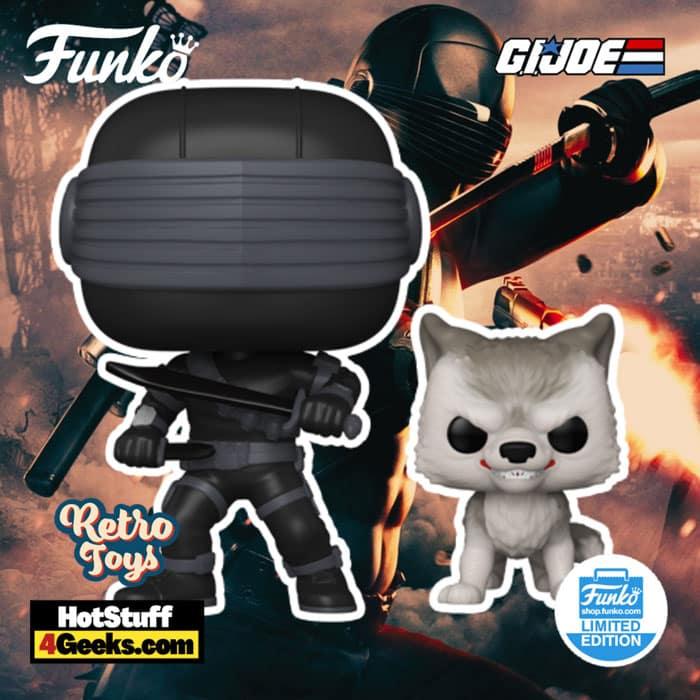 Funko Pop! Retro Toys - G.I. Joe: Snake Eyes With Timber Funko Pop! – Funko Shop Exclusive