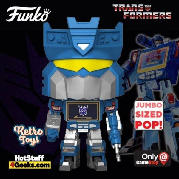 Funko Pop! Retro Toys: Transformers - Soundwave with Tapes 10-inch Super Sized Funko Pop! Vinyl Figure - GameStop Exclusive