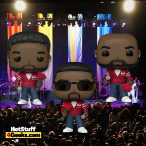 Funko Pop! Rocks: Boyz II Men - Shawn Stockman, Nathan Morris, and Wanya Morris Funko Pop! Vinyl Figures