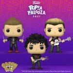 Funko Pop! Rocks: Green Day - Tre Cool, Billie Joe Armstrong, and Mike Dirnt Funko Pop! Vinyl Figure