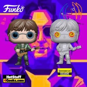 Funko Pop! Rocks: John Lennon - Military Jacket and With Psychedelic Shades Funko Pop! Vinyl Figures