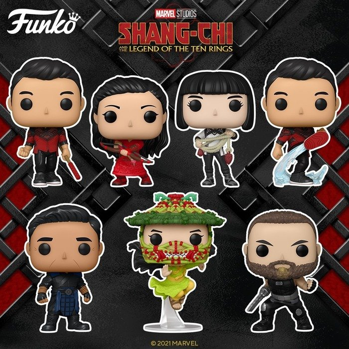 Funko Pop! Shang-Chi and the Legend of the Ten Rings Funko Pop! Vinyl Fig