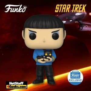 Funko Pop! Star Trek: The Original Series – Spock With Cat Funko Pop! Vinyl Figure - Funko Shop Exclusive