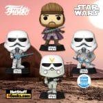 Funko Pop! Star Wars: Concept Series Han Solo, Snowtrooper, and Stormtrooper Funko Pop! Vinyl Figures