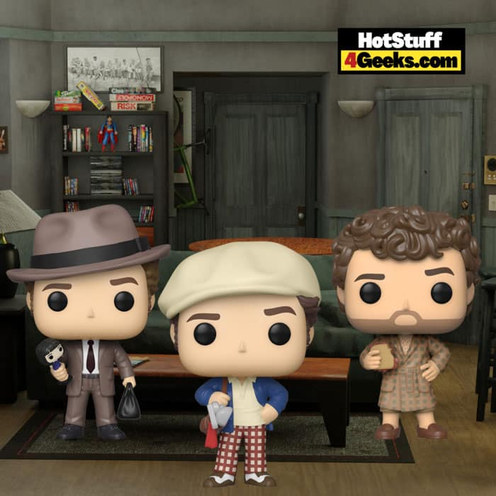 Funko Pop! Television: Seinfeld - Kramer with Sandwich, Kramer (Good Cop), and Kramer (Golf) Funko PopVinyl Figures - Funko Shop Exclusive