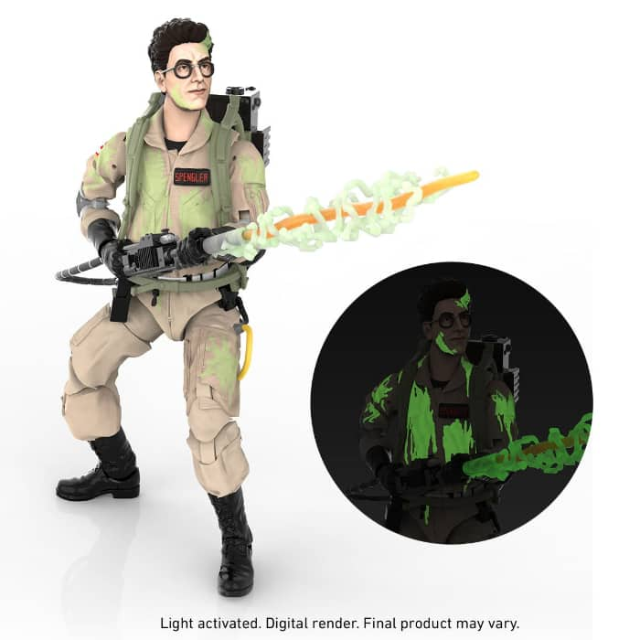 Ghostbusters Plasma Series Glow-in-the-Dark Egon Spengler 6-Inch Action Figure