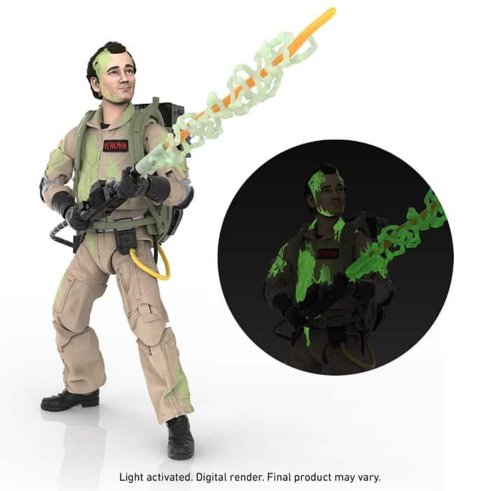 Ghostbusters Plasma Series Glow-in-the-Dark Peter Venkman 6-Inch Action Figure