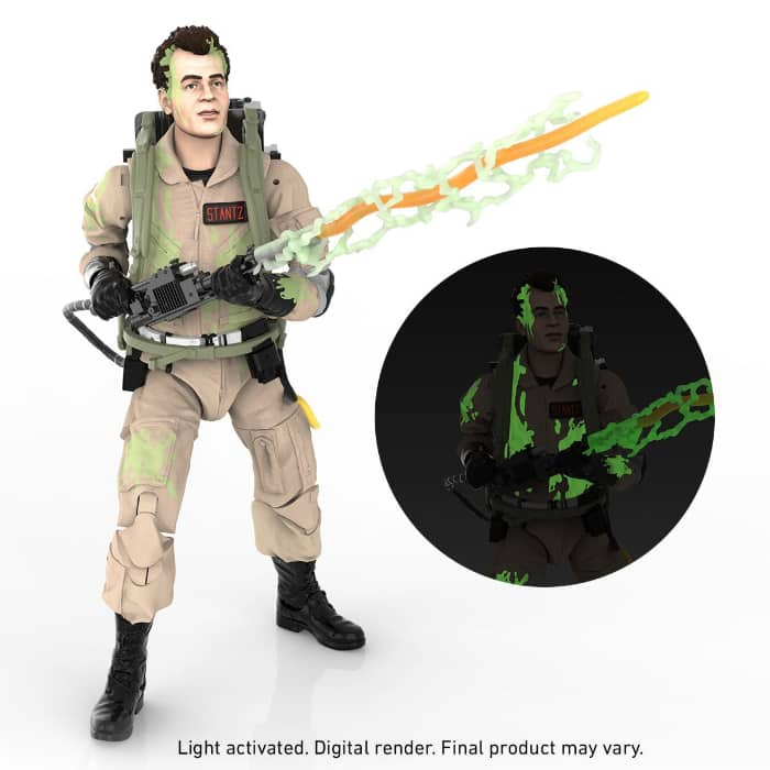 Ghostbusters Plasma Series Glow-in-the-Dark Ray Stantz 6-Inch Action Figure
