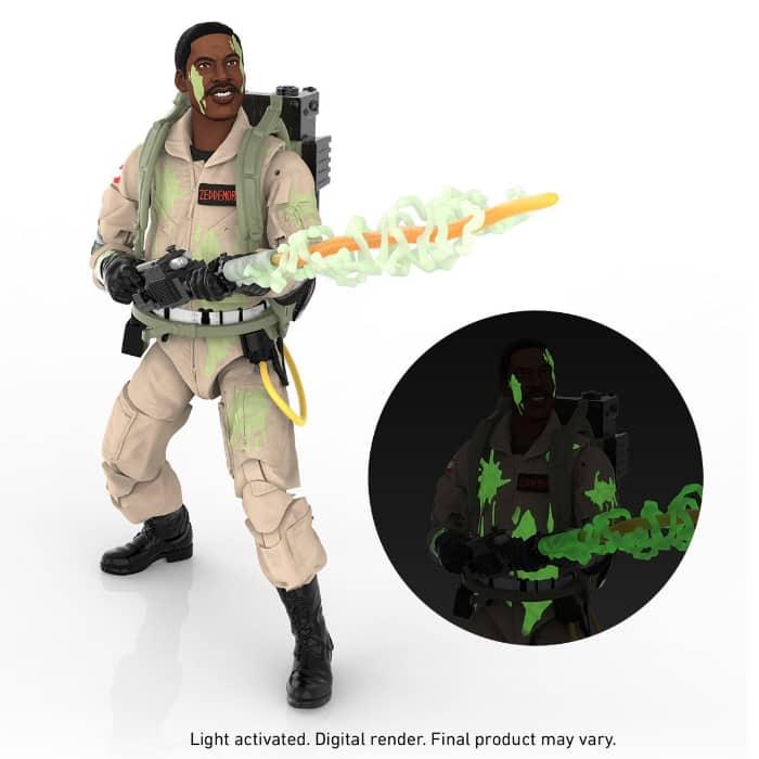 Ghostbusters Plasma Series Glow-in-the-Dark Winston Zeddemore 6-Inch Action Figure