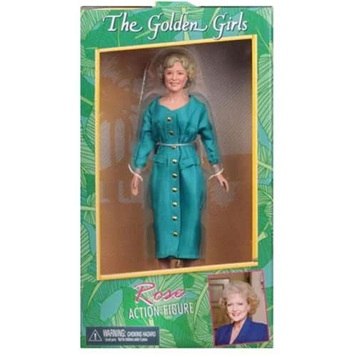 Golden Girls Rose Nylund 8-Inch Clothed Action Figure
