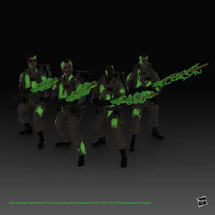 Hasbro: Ghostbusters Plasma Series Glow-in-the-Dark 6-Inch Action Figures Wave 1