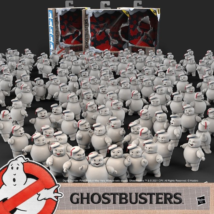 Hasbro Ghostbusters Plasma Series Mini-Pufts Action Figures 3-Pack