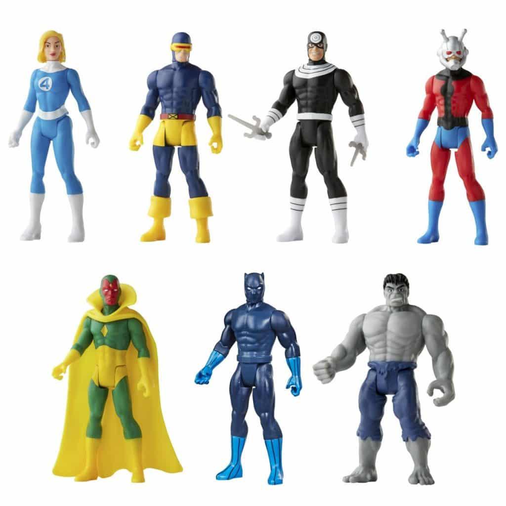 Hasbro Marvel Legends Retro 375 Collection Action Figures - Wave 3