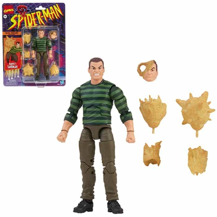 Hasbro: Spider-Man Marvel Legends 6-Inch Sandman Action Figure