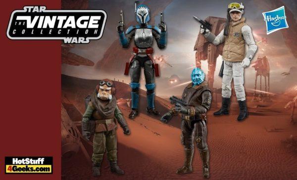 Hasbro: Star Wars Vintage Collection Action Figures - includes Bo-Katan, Kuiil, Mythrol, and Rebel Hoth Trooper