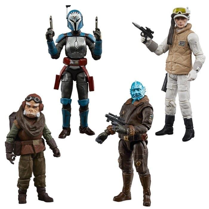 Hasbro: Star Wars Vintage Collection - includes Bo-Katan, Kuiil, Mythrol, and Rebel Hoth Trooper