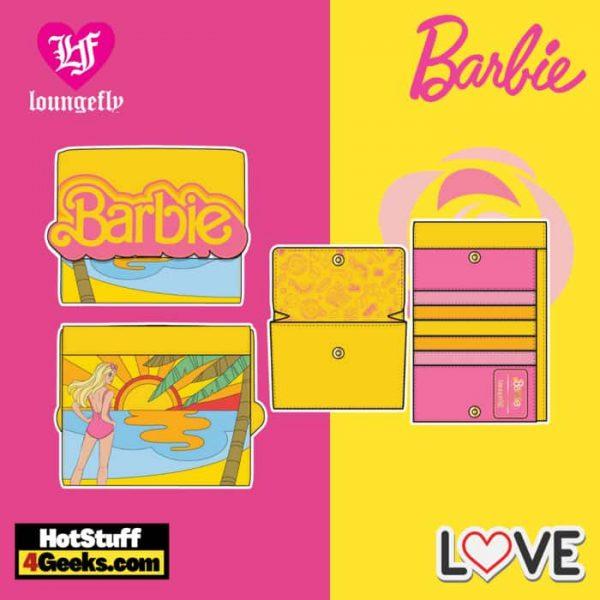 Loungefly Barbie Fun in the Sun Flap Wallet