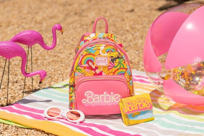 Loungefly Barbie Fun in the Sun Mini Backpack and Wallet