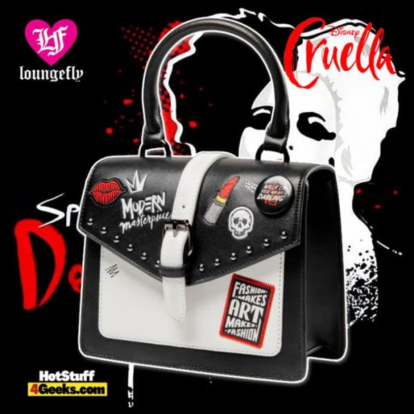Loungefly Cruella Crossbody Bag – Live-Action - Disney Shop Exclusive