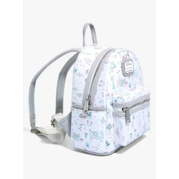 Loungefly Disney Alice in Wonderland Floral Wonderland Mini Backpack