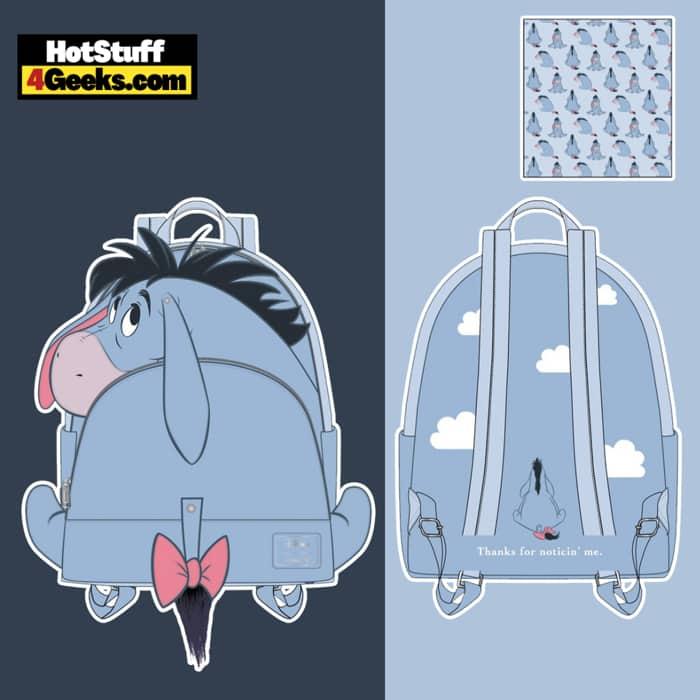 Loungefly Disney Eeyore Cosplay Mini Backpack