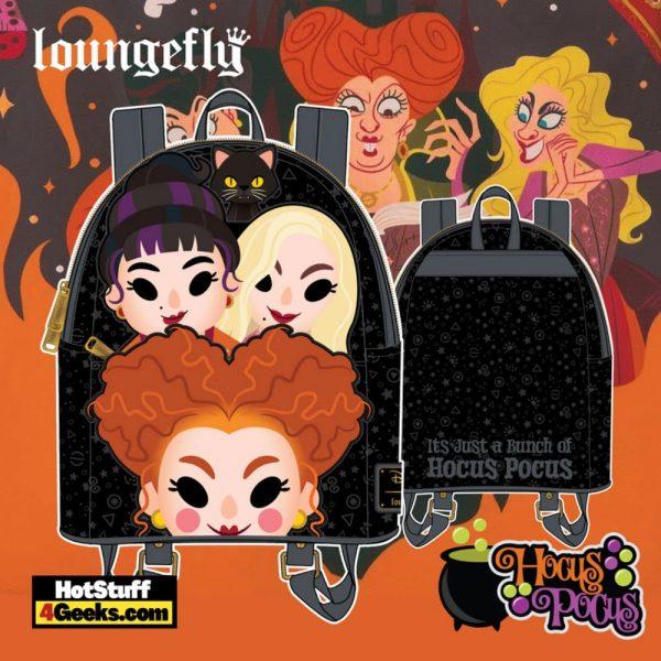 Loungefly Disney Hocus Pocus Sanderson Sisters Mini Backpack - pre-order July 2021 arrives August 2021