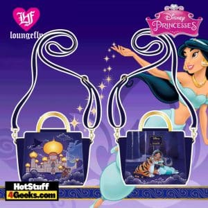 Loungefly Disney Jasmine Castle Crossbody