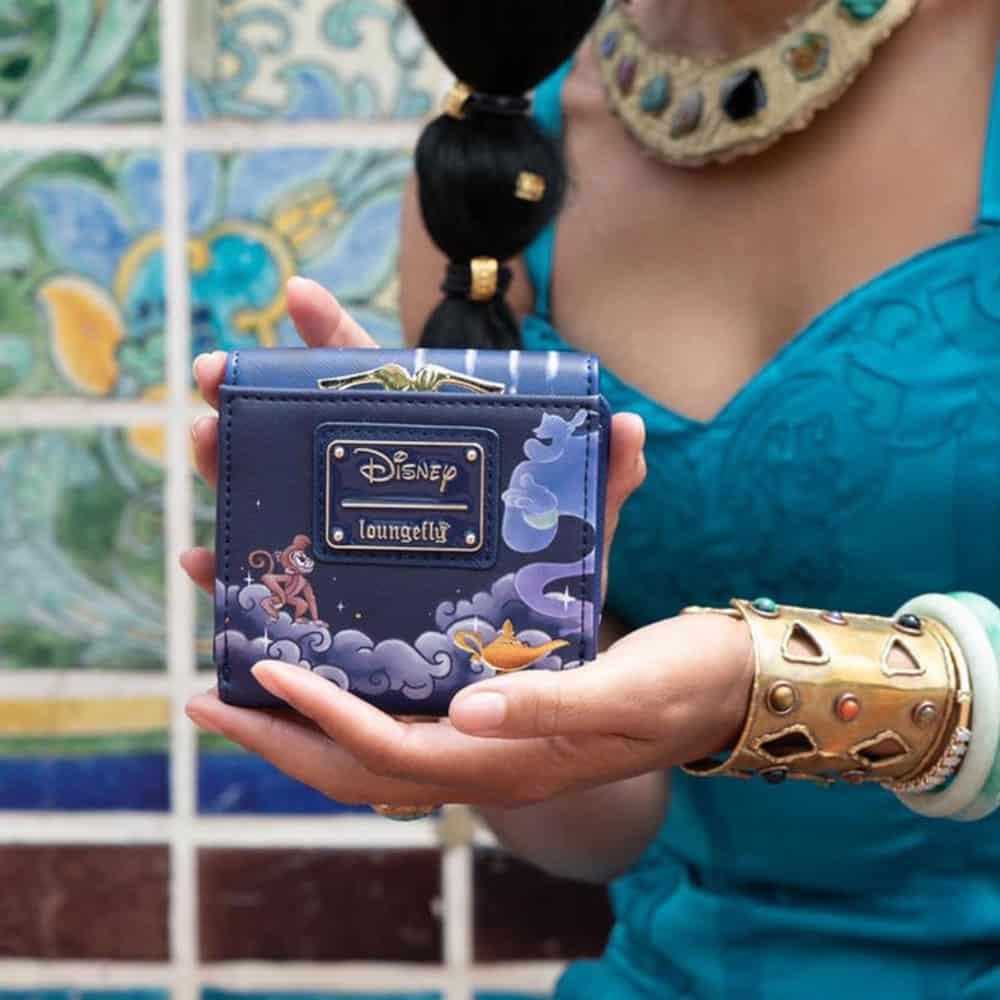 Loungefly Disney Jasmine Castle Kisslock Wallet