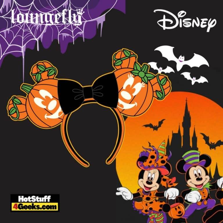 Loungefly Disney Mickey O-Lantern Headband - pre-order July 2021 arrives August 2021