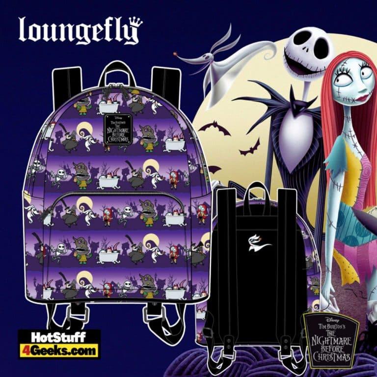 Loungefly Disney (Nightmare Before Christmas) NBC Halloween Mini Backpack - pre-order July 2021 arrives August 2021