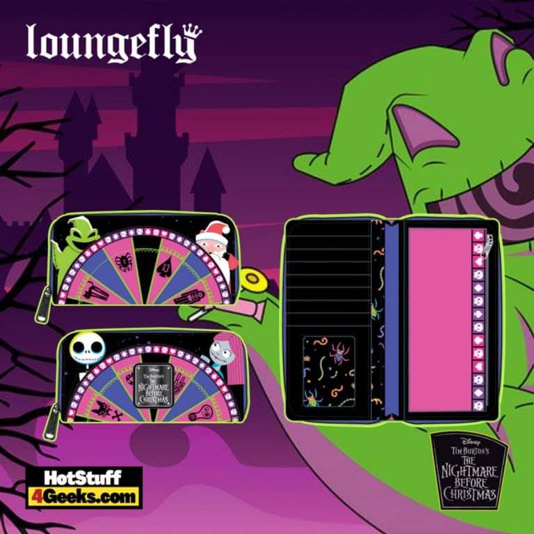 Loungefly Disney (Nightmare Before Christmas) NBC Oogie Boogie Wheel Zip Around Wallet - pre-order July 2021 arrives August 202