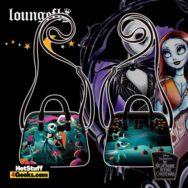 Loungefly Disney (Nightmare Before Christmas) NBC Simply Meant To Be Crossbody - pre-order July 2021 arrives August 2021