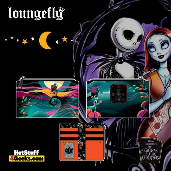 Loungefly Disney (Nightmare Before Christmas) NBC Simply Meant To Be Flap Wallet - pre-order July 2021 arrives August 2021